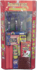 Firework Assortments at Mauckport Fireworks
